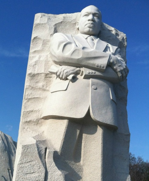 Martin Luther King, Jr. Memorial on the Mall in Washington, D.C.