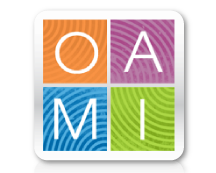 The Office of Academic Multicultural Initiatives (OAMI) at the University of Michigan logo