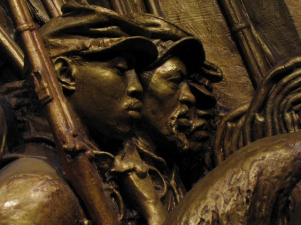 Robert Gould Shaw Memorial (detail)