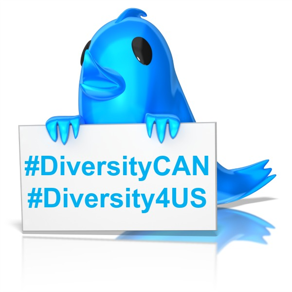 diversityCAN-diversity4US-Twitter-bird-with-sign