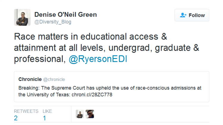 Race in Educational Access and Attainment Still Matters!