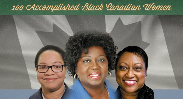 100 Accomplished Black Canadian Women Logo