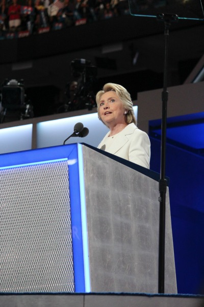 Hillary Rodham Clinton at the DNC 2016 Convention