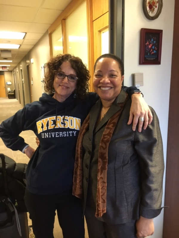 Robin DiAngelo and Dr Denise Oneil Green 2019
