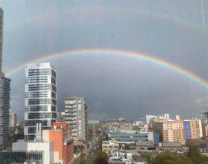 Double rainbows symbolizing resilience for the 5 Ways of RESILIENCE to Support and Empower