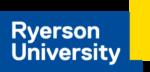 Ryerson University logo 2018